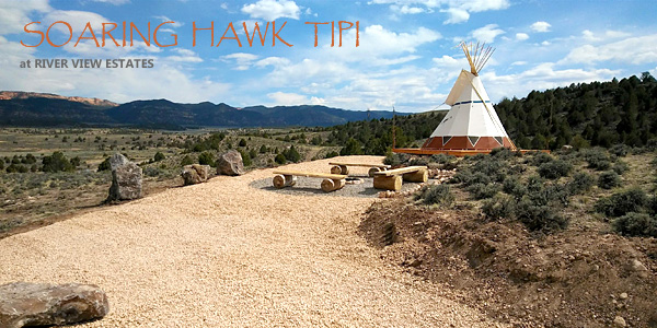 Soaring Hawk TIPI near Bryce Canyon