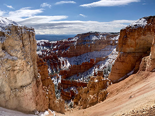 Bryce Canyon May 1, 2019 Snow Covered