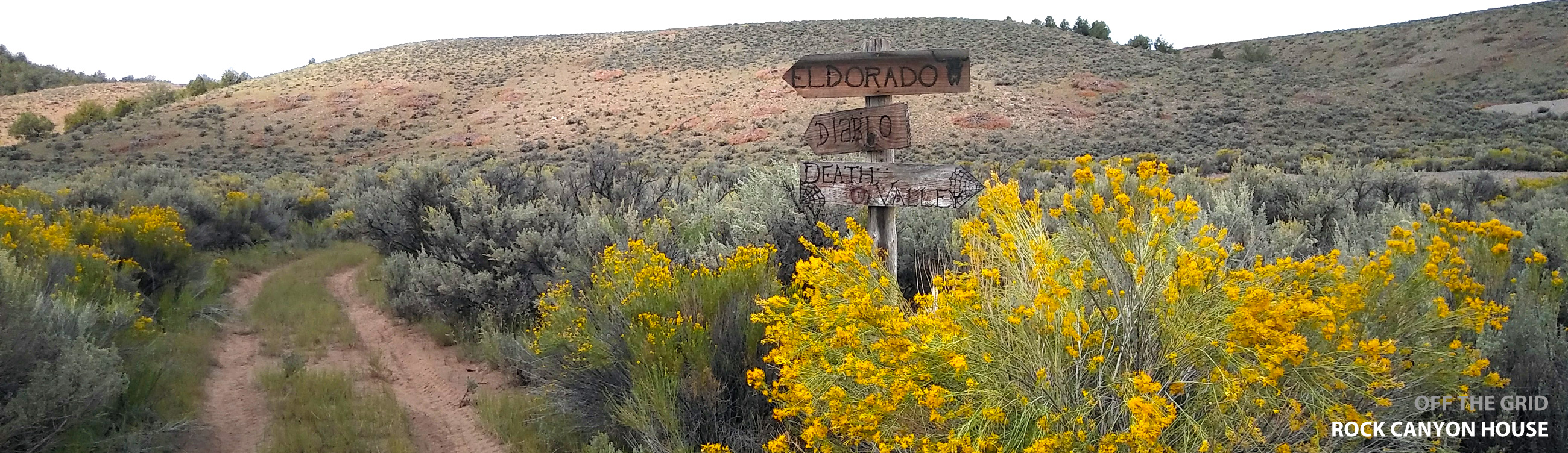 Diablo/El Dorado ATV Trail Sign