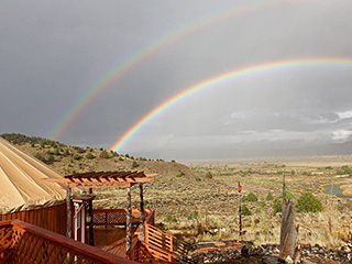 Bryce Canyon Private Studio Yurt - Rainbow