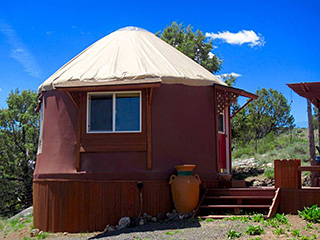Bryce Canyon Private Studio Yurt