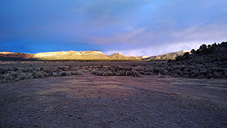 Sunset View at Rock Canyon