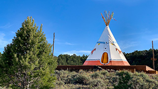 Wild Horse TIPI near Bryce Canyon - TIPI Camping Site