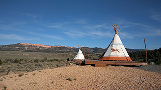 Wild Horse TIPI - Parking Area
