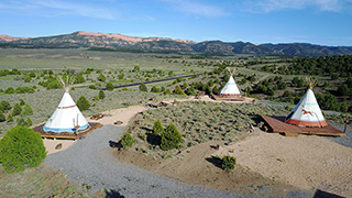 Wild Horse TIPI - All Sites Pano