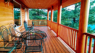 Zion - Bryce Midway 3-Story Hi-Tech Cabin Deck Furniture